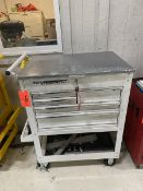 US General 31 in. wide x 21 in. long x 42 in. high Portable Multi-Drawer Tool Box