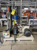 Una-Dyn 15-HP Vacuum Pump, S/N: 244229.01-01-01-0404; 460-V, 3-Ph, 60-Cycle, to Include: 15-HP