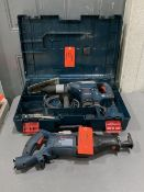 Lot - Bosch Model 11264EVS Hammer, S/N: 3611B64011, 4 in. Thick Wall Core Bits, 120-V, 60-Hz;