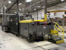 Armac Model 3036 In-Line Thermoforming Machine, S/N: 303600100; with 126 in. Pre-Heat Ceramic
