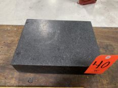9 in. wide x 12 in. long Granite Table