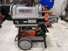 Ridgid Model 1224 Threader Threading Machine, S/N: EB524790417; with (2) 1 to 2 in., 2/12 in. to 4
