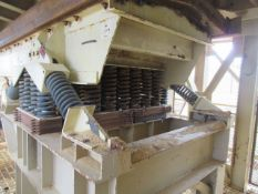 """2014 Metso Nordberg Model VE13, 52"""" x 24' Vibratory Feeder, 50 HP Drive with Grizzley Bars, Feed"""