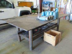 "5' x 10' x 3/4"" Steel Welding Table"