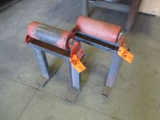 Lot - (2) Roller Stands