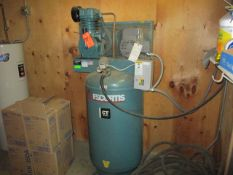FS Curtis 05C55V8SX-A20 5 HP Vertical Tank Mounted Air Compressor with CT-55 Compressor