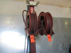 Lot - (3) Reelcraft Wall Mounted Hose Reels