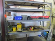 Lot - Light Duty Pallet Racking with Contents