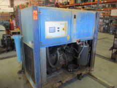 Gardner Denver L45-9A 45 KW Rotary Screw Air Compressor, 2014, s/n 2416082