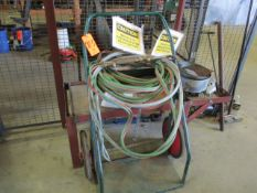 Acetylene Cart with Hose and Torch