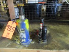 Lot - (3) Bottle Jacks