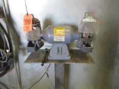 Baldor 1022W Double End Pedestal Grinder, s/n X1404037512, 1 HP