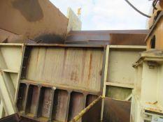 21' x 26' Steel Dump Hopper on 17' Elevated Leg Frame Structure