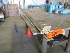 "Lot - (4) 5/8"" Diameter x 12' Long Stainless Steel Rods"