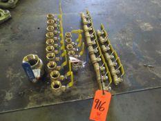 Lot - (32) Brass Valves