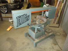 "Ellis 1800 9"" x 14"" Horizontal Metal Cutting Bandsaw, s/n 18131329, 1 HP"