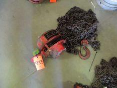 Coffing 2-Ton Manual Chain Hoist