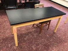Lot - (1) 60 in. Wood Desk (1) Chair (Room 310)