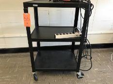 Rolling Media Cart (Room 304)
