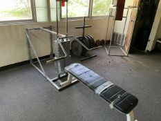Universal Bench Press (Weight Room 104)