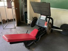Cybex Seated Squat Press (Weight Room 104)