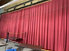 60 ft. Stage Curtains (Gym)