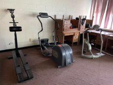 Lot - (5) Pieces of Excerise Equipment (needs repair) (Weight Room 103)