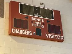Lot - (2) Fair Play Basketball Electronic Score Boards (Gym)