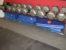 Lot - (12) Exercise Mats (Weight Room 105)
