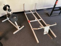 T Bar Row Machine with Weight (Weight Room 104)