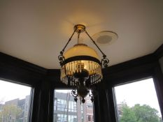 Antique Chandelier (Upstairs Hallway)