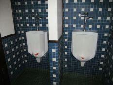 Lot - (3) Urinals, (1) Toilet (Upstairs Restrooms)
