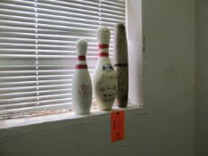 Lot - (3) Bowling Pins (Upstairs Office)