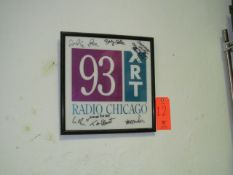 Autographed 93XRT Radio Poster (Upstairs Office)