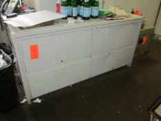 Lot - Office Furniture and File Cabinets (Upstairs Office)