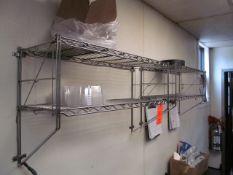 Lot - (2) Metro Shelving Units (Kitchen)