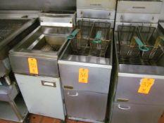 Pitco 2-Basket Deep Fryer (Kitchen)
