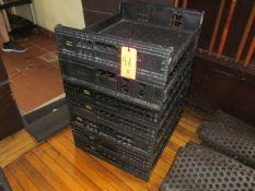 Lot - (17) Plastic Bread Storage Bins (Kitchen)