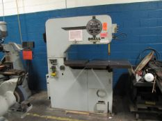 DoAll Model V36 36 in. Vertical Metal Cutting Band Saw, S/N: 36574936; 166 in. Max. Saw Length,