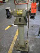 Baldor Model 712 6 in. Double-End Pedestal Grinder, 1/2 HP, 3600 RPM, 115V, 1PH (Plant #1)