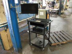 Zebra Model ZM400 Label Printer with Lenovo ThinkCentre PC & Acer 22 in. Monitor (Plant #1)