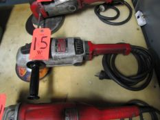 Milwaukee 7/9 in. Electric Angle Grinder, 8000 RPM (Plant #1)
