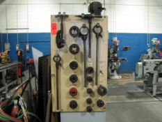Manual Pipe Threading Equipment, with (3) Die Wrenches, (12) 1/8 in. to 2 in. Threading Dies, (1)