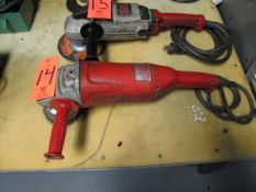 Milwaukee 7/9 in. Electric Angle Grinder, 6000 RPM (Plant #1)