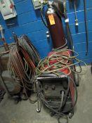 Lincoln Electric Model Power Mig 225 Mig Welder, Output: 30A/10V-250A/26V, Input: 230/460/575V,