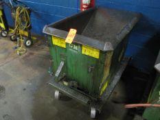 Roura Hoppers 1/3 Yard Self-Dumping Hopper on Castors, 2,000 lb. Capacity (Plant #1)