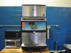 Manitowoc Model IS150E-10M Ice Machine with (2) Microwaves (S/N: IS150E-BF-1B) (Plant #1)