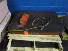 Presto Scissor Lift Table (Plant #1)