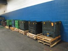 Lot - (27) Assorted Plastic Totes (Plant #1)