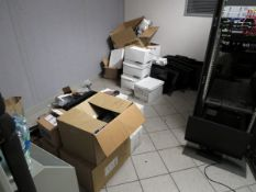 Remaining Contents of Server Room to Include: Assorted PC Monitors (Plant #1)